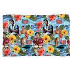 ELVIS PRESLEY BLUE HAWAII FLEECE THROW BLANKET 36X58