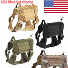 US K9 Dog Harness Nylon Vest F Police Dogs Large M/L Military Tactical Training