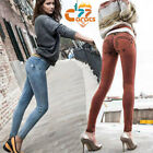 Women Sexy Tight Hip Push Up Pencil Pants Denim Freddy Jeans Elastic Trousers