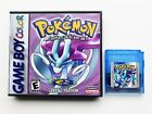 Pokemon Crystal Version - Custom Case Gameboy Color GBC (New Flash Save) USA
