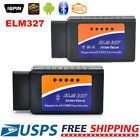 ELM327 OBD2 WiFi Bluetooth Car Diagnostic Scanner Code Reader For iPhone Samsung