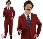70S NEWSREADER FANCY DRESS COSTUME NEWS ANCHOR MOVIE CHARACTER SUIT