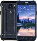 Samsung Galaxy S6 Active 32gb Blue Camo AT&T Unlocked Working Phone Discounted!