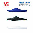 9.6x9.6ft Replacement Canopy Top Patio Pavilion Gazebo Sunshade Oxford PVC Cover