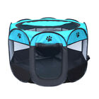 Washable Foldable Crate Playpen Cage Pet Dog Cat Play Tent Exercise Pens