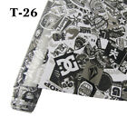 30cm*152cm Cartoon Sticker Bomb Wrap Camo Vinyl Sticker Graffiti Bomb Car Film