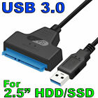 """USB 3.0 to SATA External Converter Adapter Cable Lead for 2.5"""" HDD SSD 22Pin III"""