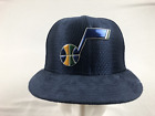 NEW New Era Utah Jazz - Navy Blue Suade Brim Fitted Hat (Multiple Sizes)