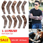 Kyпить 1-10 pc Fake Temporary Tattoo Sleeves Arm Stockings Tatoo Cool Women Men Unisex на еВаy.соm