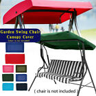 US 2&3 Seater Sizes Spare Cover Replacement Canopy Swing Seat for Garden Outdoor