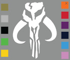 Star Wars Mandalorian / Bantha Skull / Boba Fett Vinyl Decal Car Window Sticker $3.8 USD on eBay