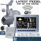 OZWeather™ Solar Powered WiFi Weather Station with Colour LED Display