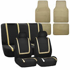 Auto Seat Covers for Car SUV Universal Seat Covers 12 Color w/ Beige Floor Mat $47.54 USD on eBay