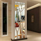 Home Decor India Magazine Modern Mirror Style Removable Decal Tree Art Mural Wall Stickers Office Decor Pine Cone Home Decor
