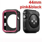 Frame Protective TPU Case Cover iWatch Protector For Apple Watch Series 4 3 2 1