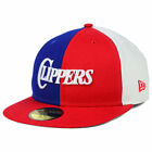 Los Angeles Clippers NBA Under Pressure 59FIFTY Fitted Flat Bill Brim Hat Cap LA on eBay