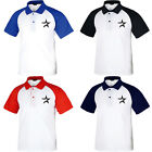KH1001 Houston Astros Raglan Polo T-Shirts Baseball Team Collar Tee Uniform 0103 on Ebay