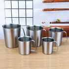 Measurement Cup Stainless Steel Milk Coffee Wine Liquid Pitcher Measuring Cup US