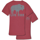 Couture Priority Live Free Buffalo Comfort Colors Unisex T-Shirt