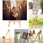 Wooden Wood Easel Stand Mini Table Desktop Art Wedding Photo Picture Display New