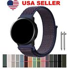For Samsung Galaxy Watch Active Band Woven Nylon Sport Loop Bracelet Watch Strap image