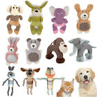 Pet Dog Puppy Squeaker Cute Plush Toy Squeaky Sound Chew Training Bite Toys