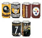 Pittsburgh Steelers 2-sided Can Cooler $6.99 USD on eBay