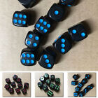 10 X 16mm Opaque Six Sided Spot Dice D&D RPG Games Toy D6 3 Colours Select