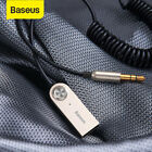 Baseus Wireless Bluetooth USB Transmitter Receiver Car AUX 3.5mm Adapter Cable