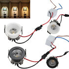 3W High Power Dimmable LED COB Recessed Ceiling Down Light Bulb Lamp + Driver SS