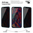 For iPhone 11 Pro Max X/XS/XR Privacy Anti-Spy Tempered Glass Screen Protector