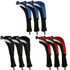 3 x Hybrid Golf Wood Head Covers Set Interchangeable No.Tag Taylormade Callaway