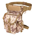 Tactical Drop Leg Bag Thigh Utility Waist Pouch Motorcycle Military Fanny Pack