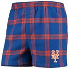 New York Mets Concepts Sport Homestretch Flannel Boxer Shorts - Royal on Ebay