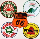 Vtg Style Porcelain Gas Signs Repros Sinclair Phillips Pennzoil Sunset Magnolia