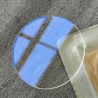 1.2mm Thick Single Side Blue AR Coated Flat Sapphire Watch Crystal Glass 26-40mm