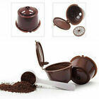 1-4X Dolce Gusto Refillable Reusable Coffee Capsule Pods Cup With 2 Coffee Spoon