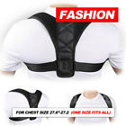 Posture Corrector Women Men Shoulder Brace Back Support Strap Belt Adjustable AU