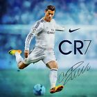 Cristiano Ronaldo Poster Wall Art Home Decor Photo HD Print Multi Sizes