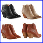 Frye Women's Reina Leather Western Ankle Bootie PICK SIZE COLOR, NEW