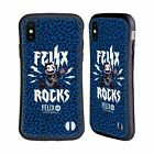 OFFICIAL FELIX THE CAT DISTRESSED ROCK HYBRID CASE FOR APPLE iPHONES PHONES