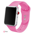 Apple watch silicone sports bands