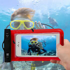 Underwater Protective Cover Pouch Waterproof Dry Bag Case For Smart Phones L0D4