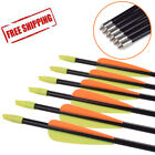"26-30""inch Safety Fiberglass Arrows Youth Archery Hunting Target Practice Arrows"