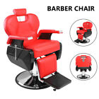 Salon Barber Chair Professional Soft W/ Handrails High Quality 150KG Safe US
