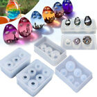 Sphere Ball Egg Shape Silicone Mold For Resin Casting Jewelry Making Mould DIY