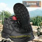 Black Leather Safety Boots Metal Free Composite Toecap Work Boot FS30C by Centek
