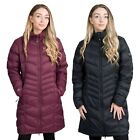 Trespass Womens Down Jacket Long Length Lightweight Puffer Micaela