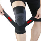 Knee Brace Hinged Compression Sleeve Joint Support Open Patella Stabilizer Wrap $13.99 USD on eBay