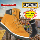 JCB 4CX Safety Work Boots Honey Men's Steel Toe Cap Shoes Authorised JCB Outlet